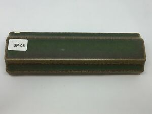 Sp 08 Dark Green Vintage 1 7 8 X 6 Antique Fireplace 3d Mantle Tile Trim