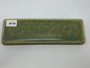 Sp 09 Sage Green Vintage 1 7 8 X 6 Antique Fireplace Mantle Tile Trim