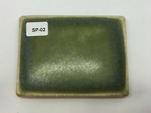Sp 02 Olive Green Vintage 3 7 8 X 3 Antique Fireplace Mantle Tile