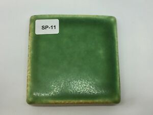 Sp 11 Bright Green Vintage 2 7 8 Antique Fireplace Mantle Tile