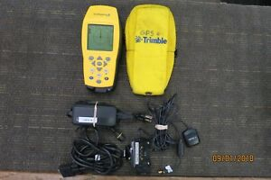 Trimble Geoexplorer 3 38376 00 Handheld Gs Receiver With Charging Base