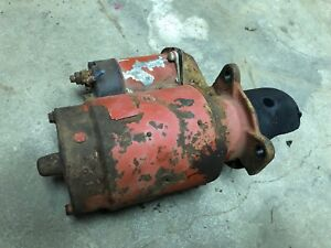 Ih Farmall International 460 Starter And Solenoid Works Good