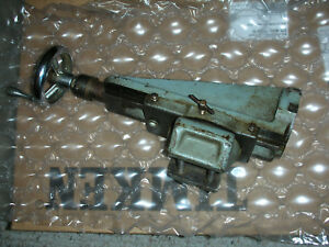 Atlas Craftsman 6 Inch Swing Lathe M6 500 Milling Attachment Good Used Shape