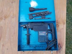Bosch 11220evs Hammers Concrete Breaker With Bits Bushing Tool
