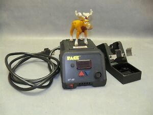 Soldering Station St45 Pace Digital Power Source Tool Stand