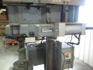 Rockwell 20 601 Cyclematic Automatic Air Feed System Drill Press Power Feed