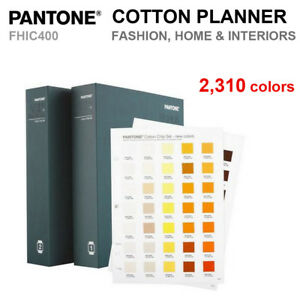 Pantone Fhic400 Fashion Home Interiors Cotton Chip Set 2 310 Colors