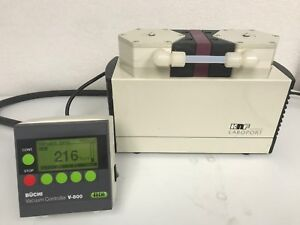 Knf Neuberger Un820 3 Ftp Laboport Diaphragm Vacuum Pump Tested To 216 Torr