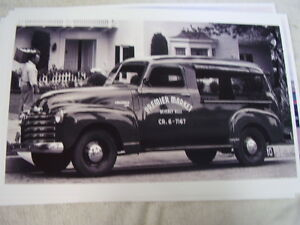 1948 49 Chevrolet Canopy Express Truck 11 X 17 Photo Picture