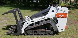 2017 Bobcat Mt85 Mini Skid Steer Track Loader Dingo Boxer Vermeer