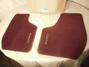 97 00 Chevy Lumina Embroidered Front Floor Mat Set Gm 12371260 Dealership Option