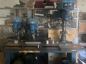Delta 20 Rockwell 1 5hp Bench Top Industrial Power Feed Drill Press 70 6x0