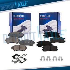 Front Rear Ceramic Brake Pads For Century Regal Impala Grand Prix Montana