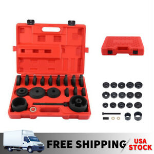 Set 23 Fwd Front Wheel Drive Bearing Adapters Puller Install Removal Tool Kit