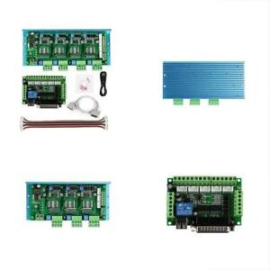 Cnc Controls Router 4 Axis Kit Tb6600 4 5a Stepper Motor Driver Board Mach3