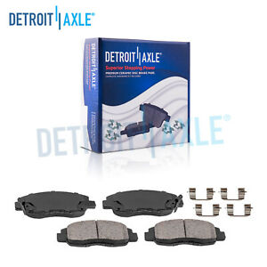Front Ceramic Brake Pad 1990 2002 Accord 1996 2011 Civic 2010 2014 Insight