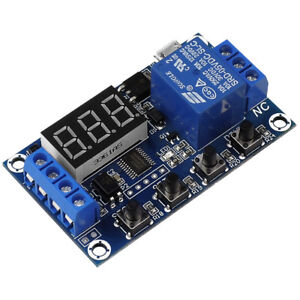 1 way Relay Module Dc 6 30v Delay Power off Trigger Delay Cycle Timer Switch