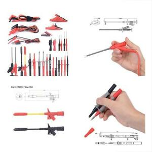 Multimeter Test Probes Leads Kits With Alligator Clips Hooks