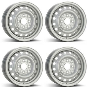 4 Alcar Steel Wheels 6375 5 5x14 Et45 4x114 For Nissan Nv200 Rims