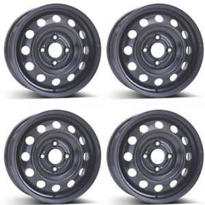 4 Alcar Steel Wheels 8075 6 0x15 Et43 4x114 For Kia Cerato Rims