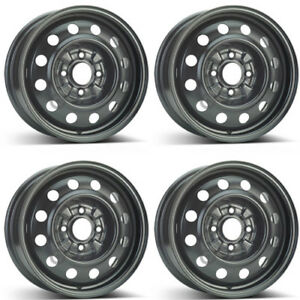 4 Alcar Steel Wheels 8125 6 0x15 Et46 4x114 For Kia Magentis Rims