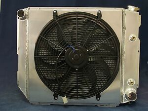 2004 2005 Jeep Tj With A Chevy Motor Aluminum Radiator V8 Conversion With Fan