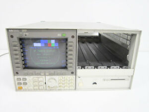 Hp 70004a With Osa Keypad Optical Spectrum Analyzer Agilent
