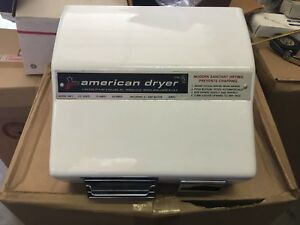 American Dryer Am1 Hand Dryer White Nos
