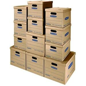 Smoothmove Classic Moving Kit Boxes Tape free Assembly Easy Carry Handles 8 4
