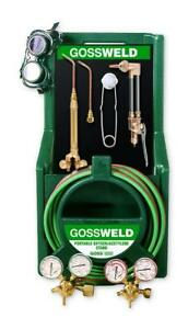 Goss Ka 425 m 425 Oxy acetylene Welding Brazing Kit Mc W Acet Regulator Sale