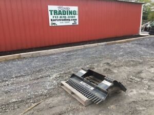 2014 Asv Loegering 48 Eliminator Rake Attachment For Skid Steer Loaders