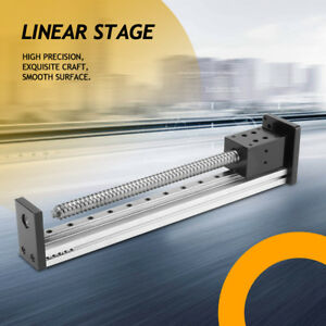 Precision Manual Sliding Table Ball Screw Linear Stage Slide 150 250 1000mm Us