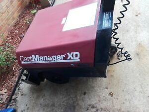 Cartmanager Xd Electrical Shopping Cart Buggy Pusher puller gatekeeper Systems