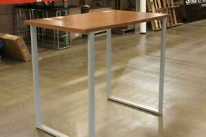 Voi Standing Hieght Table In Bourbon Cherry Open Box