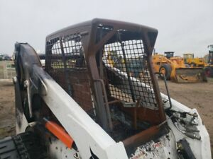 07 Bobcat T320 Track Steer Shell Cab Fire Damage Oem 6719672