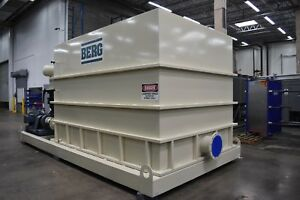Berg Skid Mounted Water Storage Tank With Bell Gossett Pump Station