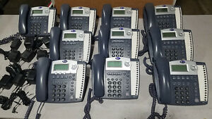 Lot Of 10 Total At t 4 Line Small Business Phones System 8 Of 945 2 Of 974
