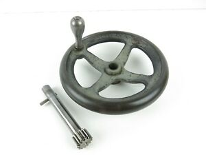 South Bend 13 Lathe Apron Hand Wheel And Pinion Gear Assembly