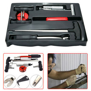 7pcs Professional Car Auto Windshield Remover Cut Tool Set Window Glass Removal