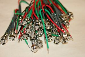 25 Pack 2vdc Dual Color Red green Led 101 328