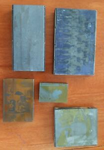Vintage Wood Printing Blocks
