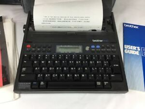 Vintage Brother Ep 43 Portable Electronic Typewriter Word Processor Japan
