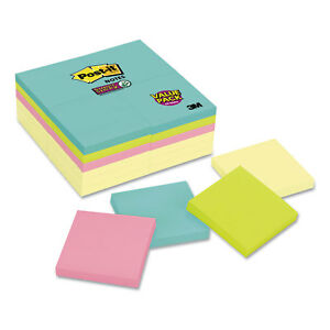 Note Pads Office Pack 3 X 3 Canary miami 90 pad 24 Pads pack