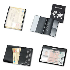 Hidentity Personal Protection Assortment Set 4 Holders Clear black