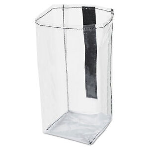 Executive Quick Cart Plastic Pocket Liner Small 4 X 3 4 5 X 8 1 2 Clear