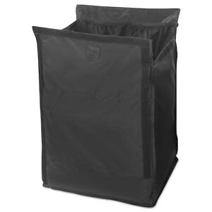 Executive Quick Cart Liner Large 12 4 5 X 16 X 22 1 5 Black 6 carton