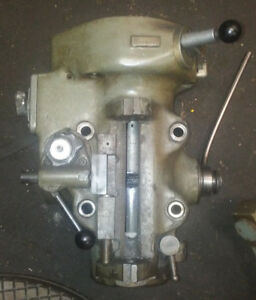 Bridgeport Milling Machine Head Parts Vari step Heads 2 Hp