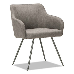 Alera Captain Series Guest Chair Gray Tweed