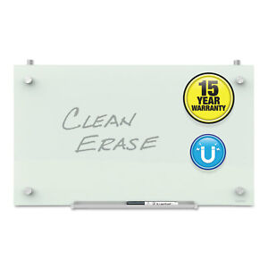 Infinity Magnetic Glass Dry Erase Cubicle Board 18 X 30 White