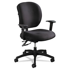 Alday Series Intensive Use Chair 100 Polyester Back 100 Polyester Seat Black